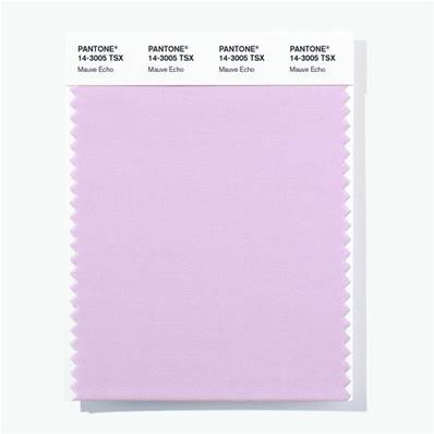 14-3005 TSX Mauve Echo - Polyester Swatch Card