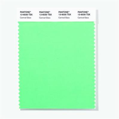 13-6030 TSX Carnival Glass - Polyester Swatch Card